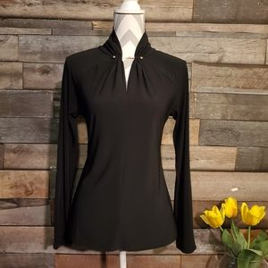 WHBM Long Sleeve Blouse Size Small